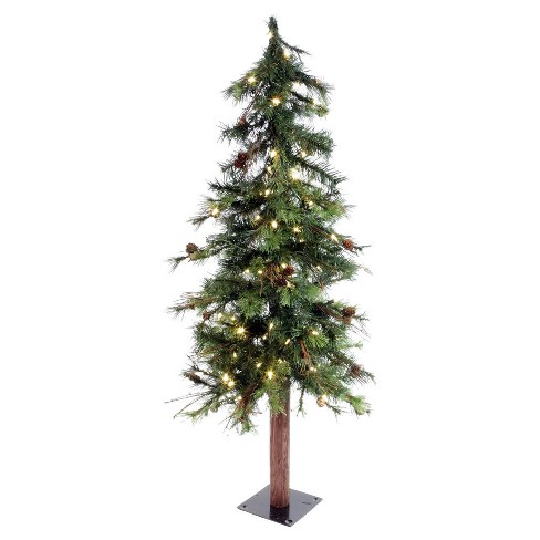 about this item - Slim Christmas Tree With Led Lights