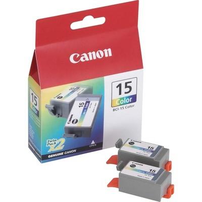 Canon 15 (BCI15CLR) Color Inkjet Cartridges 8191A003