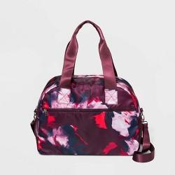 Floral Print Weekender Bag - JoyLab™ Burgundy