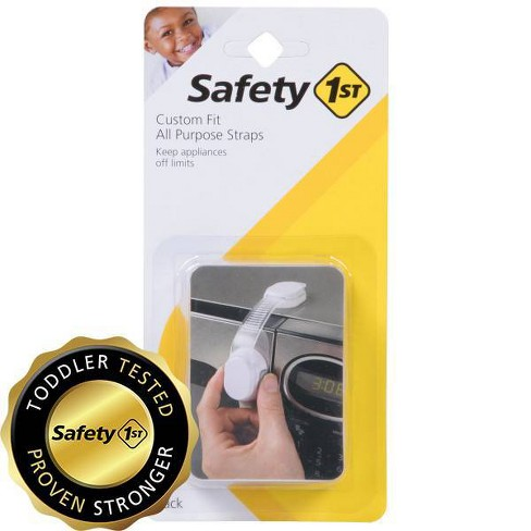 Safety 1st Custom Fit All Purpose Adjustable Strap - White (2pk) - image 1 of 3