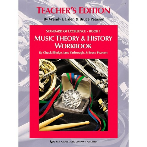 KJOS Standard Of Excellence BK 1,MSC THRY/HISTORY WB-TEACHER - image 1 of 1