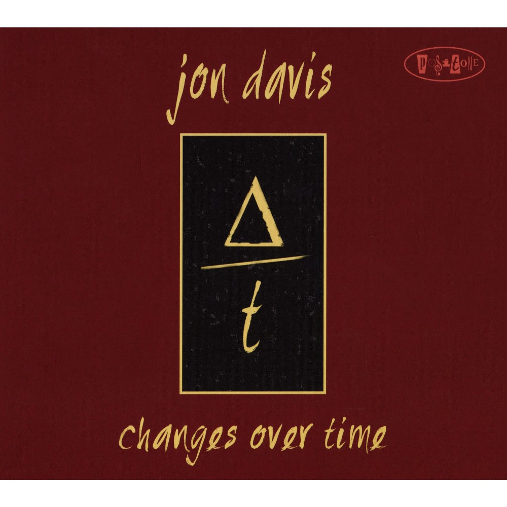 Jon Davis - Changes Over Time (CD)