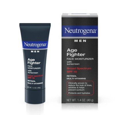 Neutrogena Men's Anti Wrinkle Age Fighter Moisturizer   Spf 15   1.4oz by Neutrogena