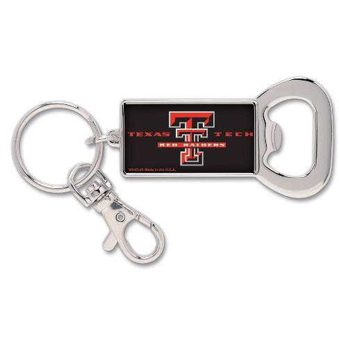 NCAA Texas Tech Red Raiders Lanyard Bottle Opener Keychain
