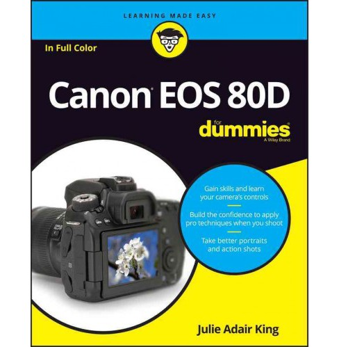 Canon EOS 80D for Dummies (Paperback) (Julie Adair King) - image 1 of 1