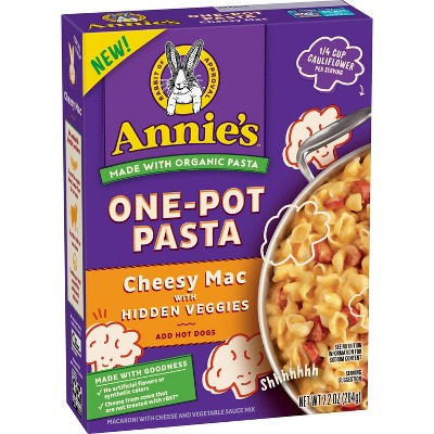Mac & Cheese: Annie's One-Pot Pasta