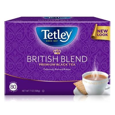 Tetley Premium British Blend Black Tea - 80 ct