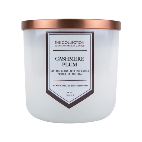 12oz Jar Candle Cashmere Plum - The Collection By Chesapeake Bay Candle - image 1 of 3