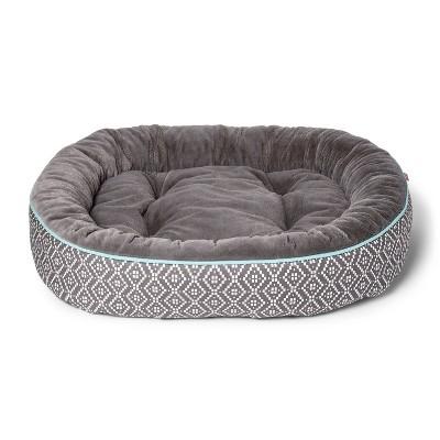 Rounded Rectangle Cuddler Dog Bed - M - Boots & Barkley™