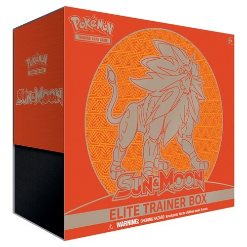 Pokemon Trading Card Game Sun Moon Elite Trainer Box featuring Solgaleo - image 1 of 2