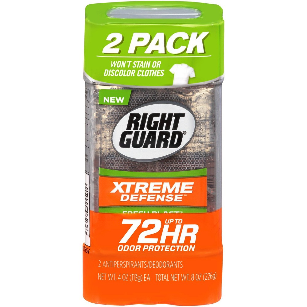 Image of Right Guard Total Defense Fresh Blast Clear Gel - 2pk
