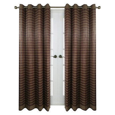 Curtain Panel Bamboo Grommet - Versailles Home Fashions