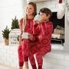 Women's Plus Size Holiday Snowflake Bodysuit Pajama - Hearth & Hand™ with Magnolia - image 4 of 4