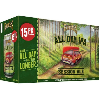 Founders All Day IPA Beer - 15pk/12 fl oz Cans