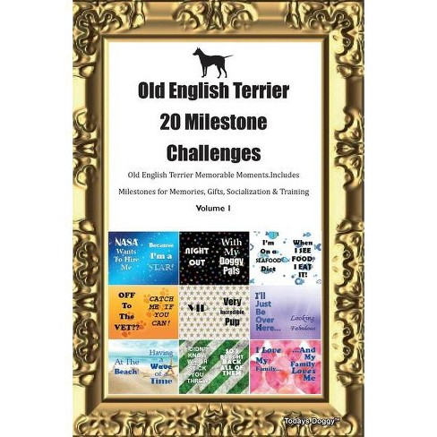 Old English Terrier 20 Milestone Challenges Old English Terrier Memorable Moments.Includes Milestones - image 1 of 1