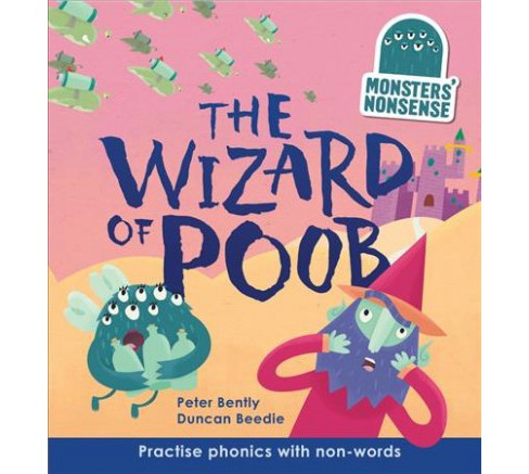 Wizard of Poob -  (Monsters' Nonsense, Level 6) by Peter Bently (Hardcover) - image 1 of 1