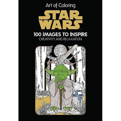 - Star Wars Adult Coloring Book: 100 Images To Inspire Creativity And  Relaxationby By Disney Editions (Hardcover) : Target