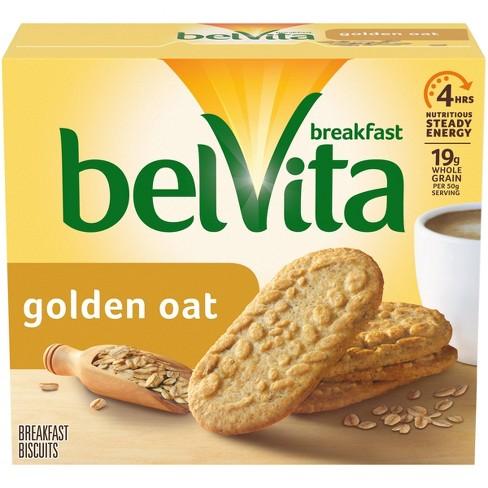 belVita Golden Oat Breakfast Biscuits - 5 Packs - image 1 of 4