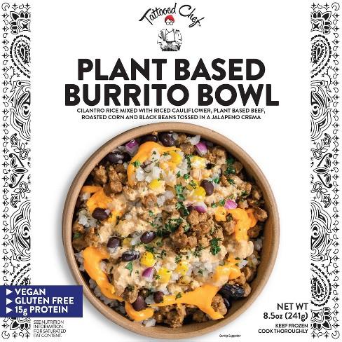 Tattooed Chef Frozen Plant Based Burrito Bowl - 8.5oz - image 1 of 4