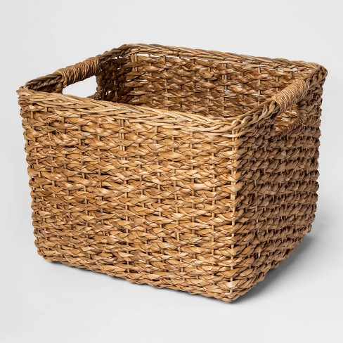 "11""x13"" Aseana Large Milk Crate Natural - Threshold™ - image 1 of 2"