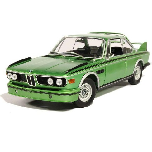Bmw 3.0 Csl >> 1975 Bmw 3 0 Csl E9 Coupe Green Limited Edition To 504pcs 1 18 Diecast Model Car By Minichamps