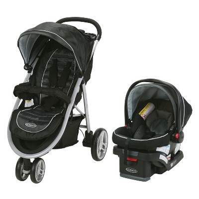 Graco Aire 3 Travel System - Gotham