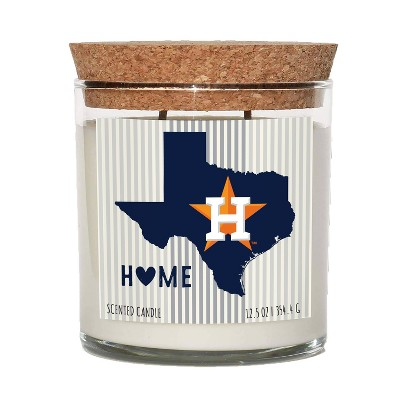 MLB Houston Astros Home State Candle
