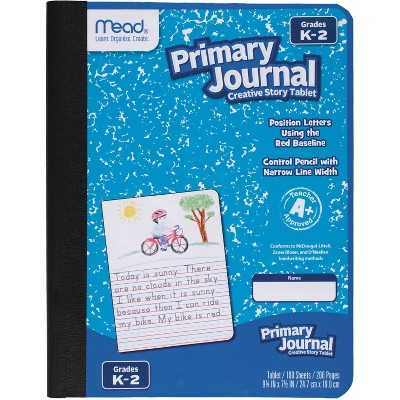 """Mead 100 Sheet Primary Story Journal 9.75"""" x 7.5"""""""