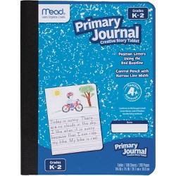 "Mead 100 Sheet Primary Story Journal 9.75"" x 7.5"""