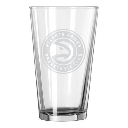 2408ba68771 NBA 16oz. Satin Etch Pint Glass