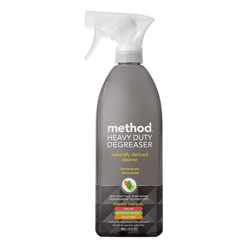 Method Cleaning Products Kitchen Degreaser Lemongrass Spray Bottle - 28 fl  oz