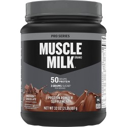 Muscle Milk Pro Series Protein Powder - Knockout Chocolate - 32oz