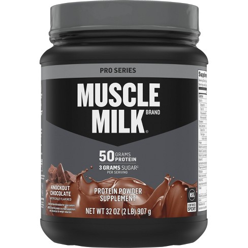 Muscle Milk Pro Series Protein Powder - Knockout Chocolate - 32oz - image 1 of 3