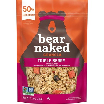 Bear Naked Triple Berry Granola - 12oz