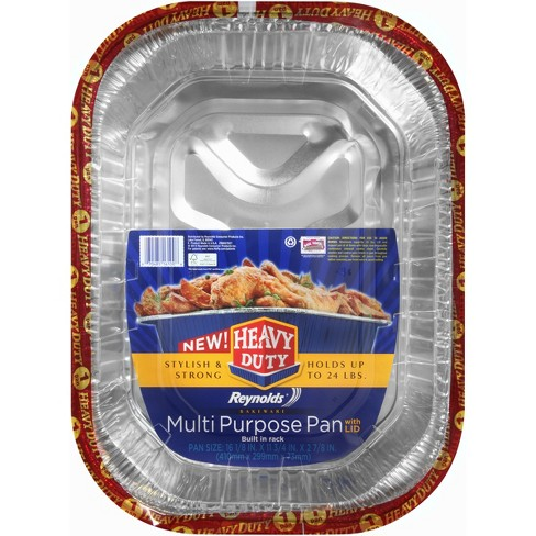 Reynolds Multipurpose Pan with Lid - 1ct - image 1 of 4