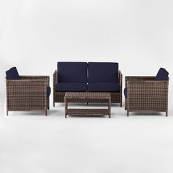 Monroe 4pc Patio Conversation Set - Threshold™