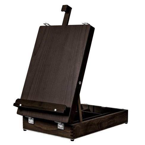 Kingart Wooden Art Box Tabletop Easel - Espresso - image 1 of 4