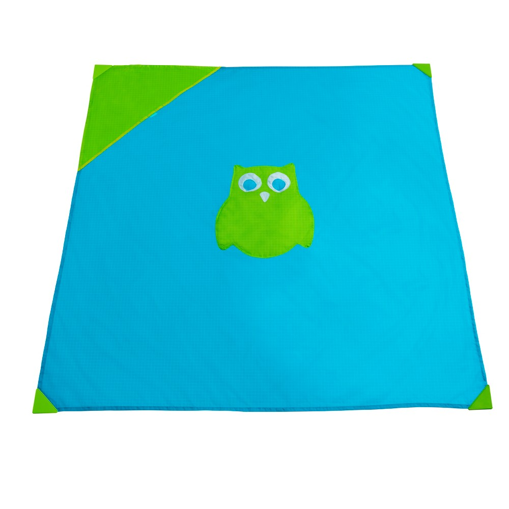 Image of Munchkin Brica Go Play Travel Mat, Green Blue