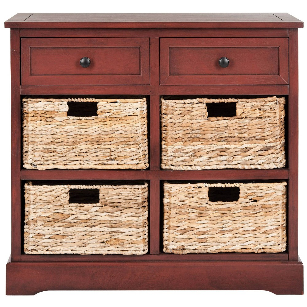 Best Storage Cabinet Red - Safavieh