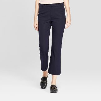 Women's Kick Flare Ankle Pants - A New Day™ Blue 6