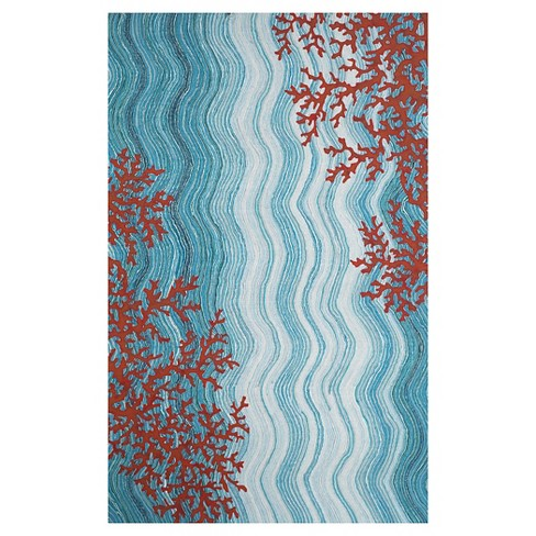 Liora Manne Visions IV Coral Reef Indoor/Outdoor Rug - image 1 of 1
