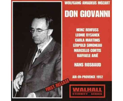 Heinz rehfuss - Mozart:Don giovanni (CD) - image 1 of 1