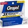 Orajel 3X Medicated For All Mouth Sores Gel - 0.42oz - image 2 of 3