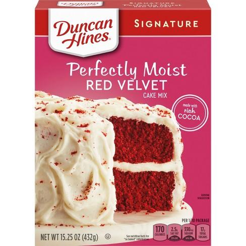 Duncan Hines Red Velvet Cake Mix - 16.5 oz - image 1 of 4