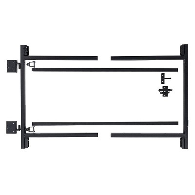 Adjust-A-Gate AG60-36 Steel Frame Anti Sag Gate Building Kit, 60 to 96 Inches Wide Opening Up to 3-4 Feet High Fence