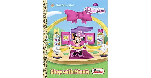 Shop with Minnie ( Little Golden Books) (Hardcover) by Andrea Posner-Sanchez - image 1 of 1