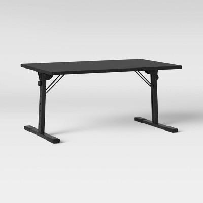 Adjustable Mixed Material Lap Desk Black - Room Essentials™