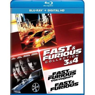 Fast & Furious: Tokyo Drift / Fast & Furious (Blu-ray)(2017)