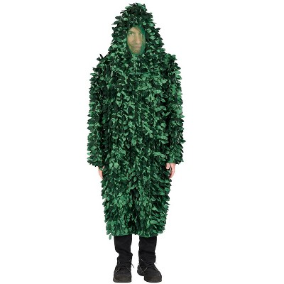 Orion Costumes Leafy Camo Suit Adult Costume | Camouflage Bush Costume | One Size Fits Most