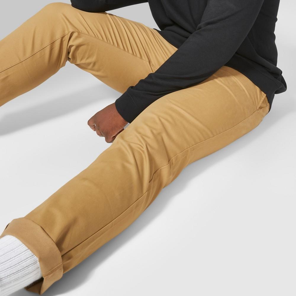 Men's Big & Tall Skinny Chino Pants - Original Use Dapper Brown 50